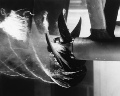 Image of a caveating propeller.